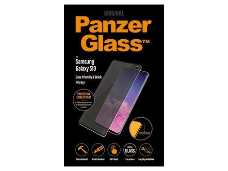 PanzerGlass Samsung Galaxy S10 - Black - Case Friendly