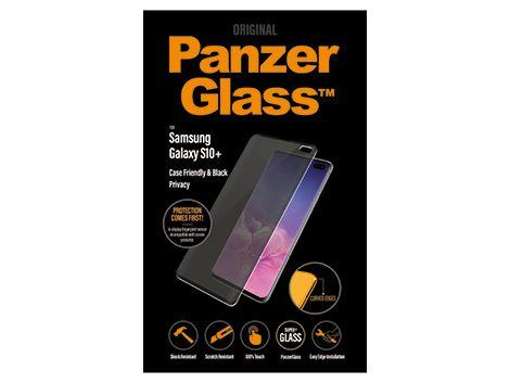 PanzerGlass Samsung Galaxy S10 Plus - Black - Case Friendly