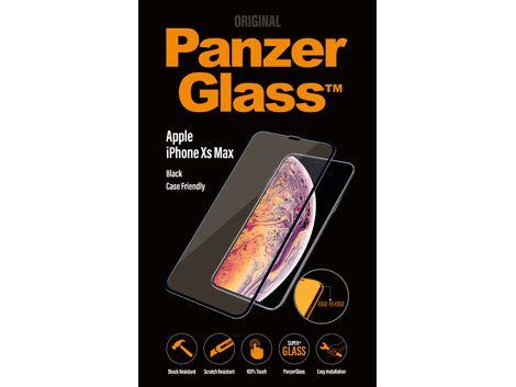 PanzerGlass Apple iPhone Xs Max - Black - Case friendly