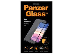 PanzerGlass Apple iPhone Xr / iPhone 11 - Black - Case friendly