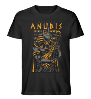 Anubis Warrior - Men Premium Organic Shirt-16