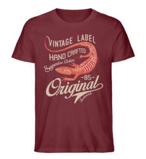Vintage Label - Men Premium Organic Shirt-6883