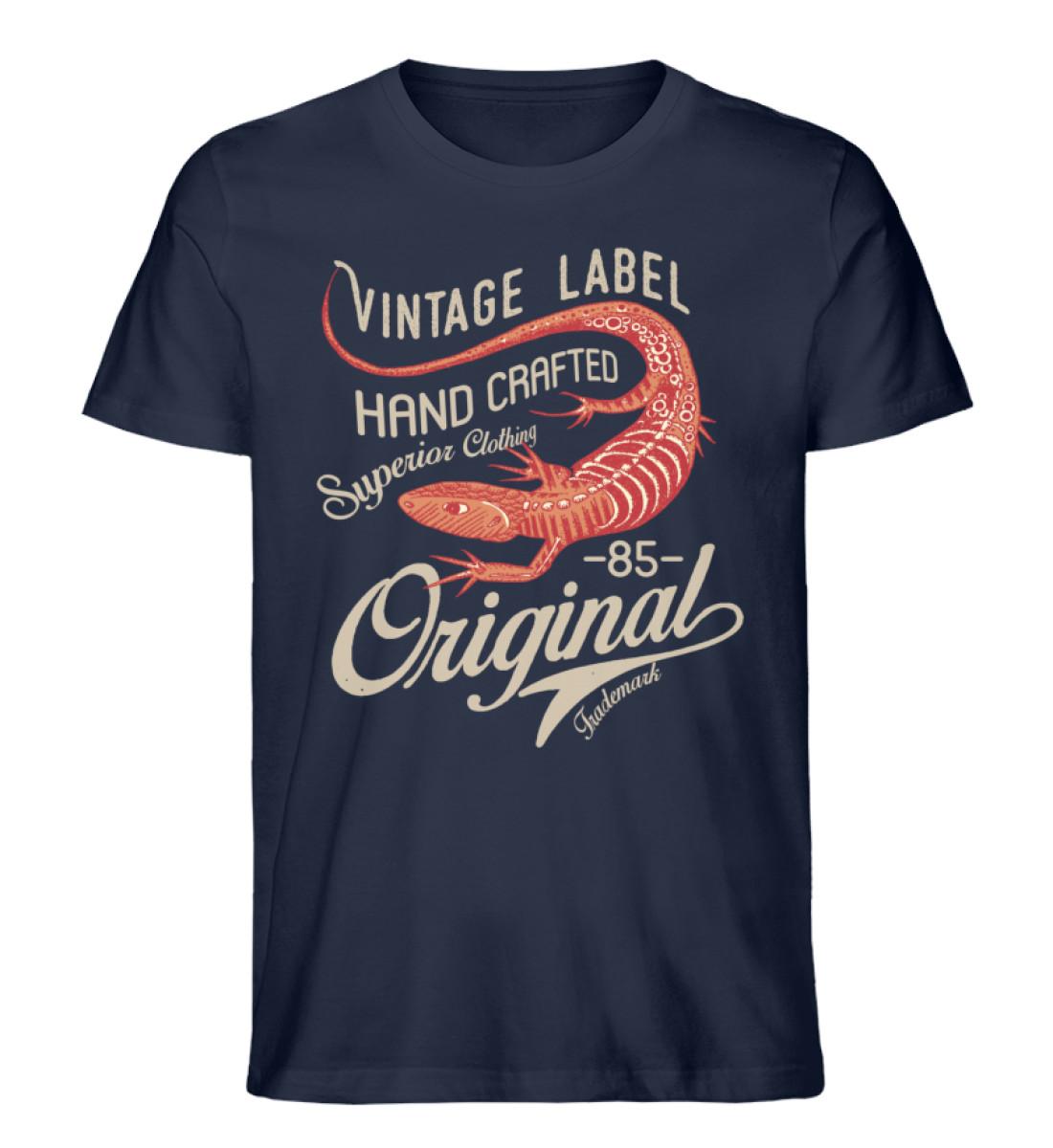 Vintage Label - Men Premium Organic Shirt-6887