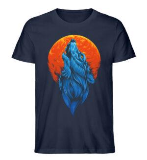 Howling Wolf - Men Premium Organic Shirt-6887