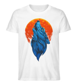 Howling Wolf - Men Premium Organic Shirt-3