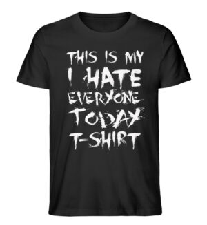 This is my Hate.. - Men Premium Organic Shirt-16