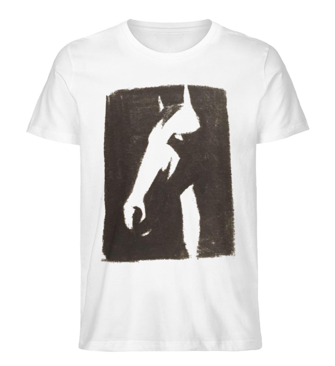 Just a horse - Men Premium Organic Shirt-3