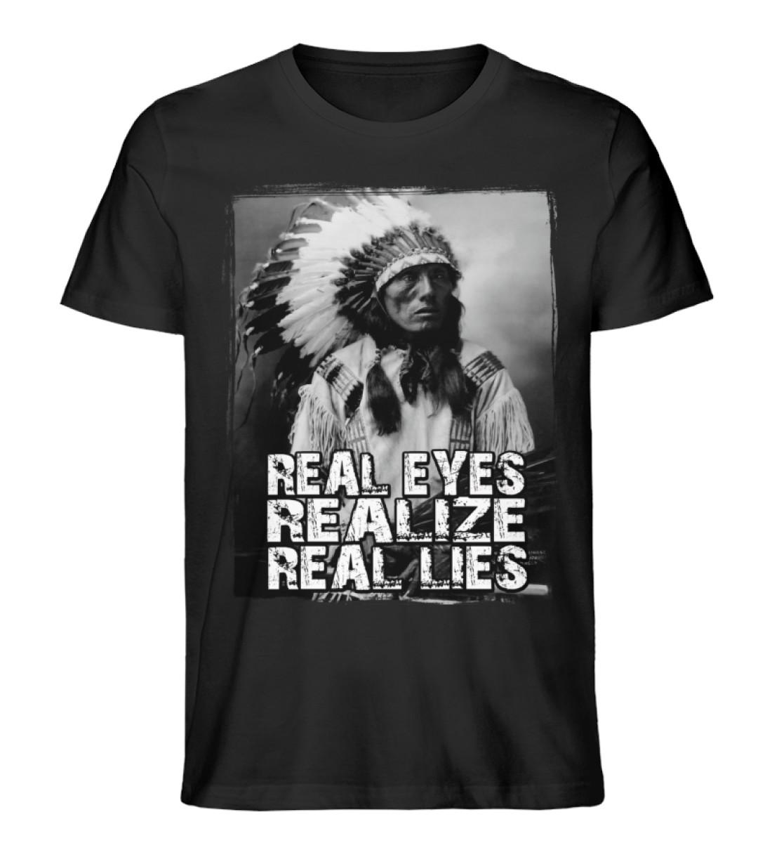 Real Eyes - Men Premium Organic Shirt-16